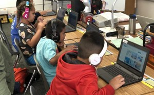"""Tiger Tech Club Says """"Yes!"""" to Technology with Hour of Code - article thumnail image"""