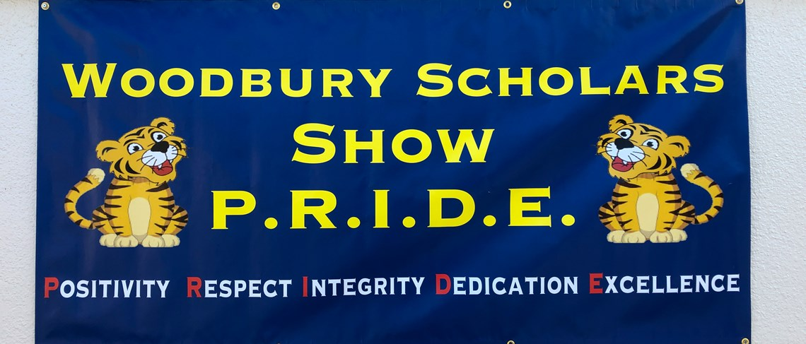 PRIDE = Positivity, Integrity, Dedication, and Excellence